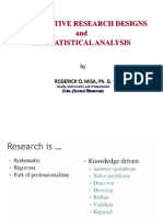 Study Designs and Its Statistical Analysis Final (1)