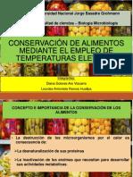 Conservacion de Alimentos Mediante Temperaturas Elevadas Terminado