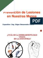 Prevención de Lesiones en Manos - Grupo Cobra
