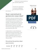 Percentual de Gordura_ a Medida Mais Importante Do Corpo