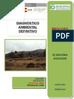 Diagnostico Ambiental Definitivo HUITO