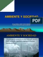 Ambiente y Sociedad Introduccion