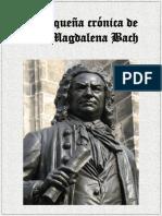 pequena cronica de anna magdalene Bach