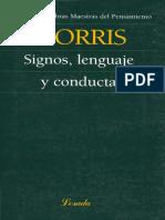 Signos Lenguaje y Conducta - MORRIS.pdf