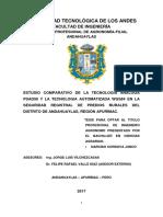 Tecnología Análoga PSAD56 y WGS84 en la seguridad registral de predios rurales.pdf
