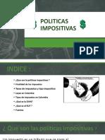 Politicas Impositivas por Andres Camilo Rodriguez Bayona