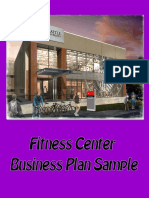 Gym Business Plan Template Free Download