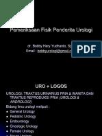 Pemeriksaan Fisik Penderita Urologi