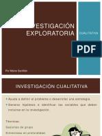 Investigacinexploratoriacualitativa-clase Abril 1 2019