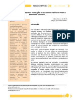 Estudo, Desenvolvimento e Produção de Materiais Didáticos Para o Ensino de Biologia