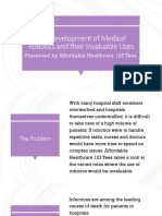 AH123 Tees-The Development of Medical Robotics and Their Invaluable Uses