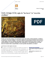 "XXIX. El Siglo XVIII, siglo de ""las luces"""