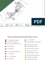 Mapa Antonio Romulo Costa Con Leyenda