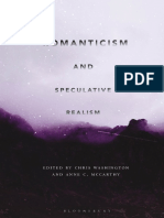 Romanticism and Speculative Realism