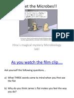 Meet the Microbes!!