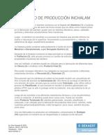 Flujograma de Evaluacion de Productos Horneados