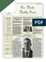 Newsletter Volume 10 Issue 23