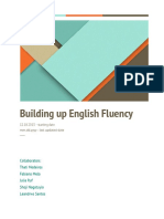 Building Up Our Fluency