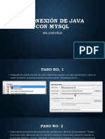 1-Manual de Conexion a La Base de Datos Con Java