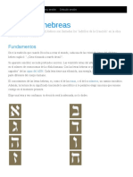 letras hebreas
