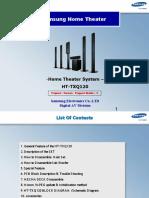 Samsung Ht-txq120 Training