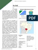 Mato Grosso do Sul.