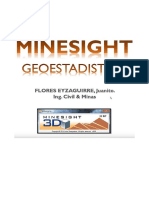 MineSight Geoestadadistica 2019