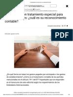 Contabilidad de Inversiones Con Tratamiento Fiscal