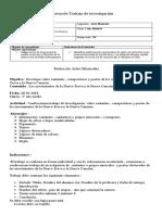 Protocolo Trabajo de Investigación 3 Medio