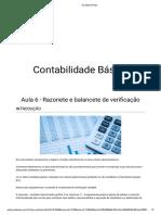 Aula 6 - Razonete e balancete de verificação.pdf