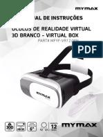 8697 Datasheet Oculos VR Mymax MFYF VR12 WH 0077 17
