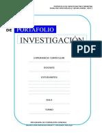 Lleno Portafolio de Investigación 2019 i