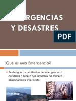 2. Emergencias y Desastres