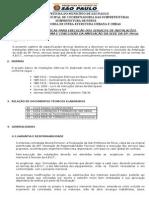 ANEXO III Especificacoes Tecnicas