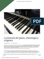 La Historia Del Piano_ Orígenes y Evolución _ Hinves Pianos