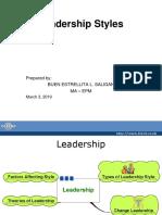Leadership Buenestrellitasaligan