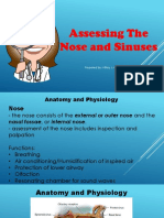 Assessing Nose and Sinuses2
