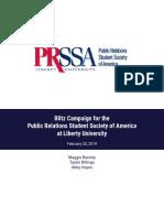 PRSSA Spring Membership
