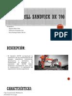 Track Drill Sandvick Dx 700