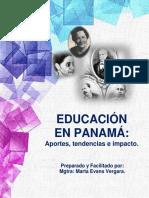 Educación en Panamá. Aportes, Tendencias e Impactos