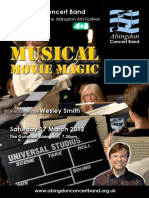 Musical Movie magic program