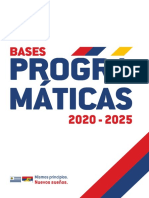 Bases programaticas FA