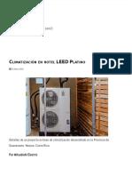 Climatización en Hotel LEED Platino _ Climatización y Refrigeración - ACR Latinoamérica
