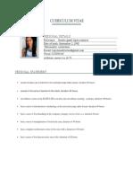 AP01-EV04, Hoja de Vida, Curriculum