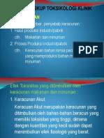 1. Ruang Lingkup Toksikologi Klinik