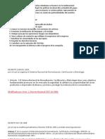Elaborar y Presentar Informe de Las Variaciones y Procedimientos de La Organizacion