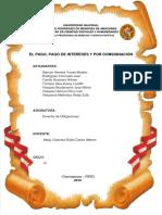 PAGO, PAGO DE INTERESES Y POR CONSIGNACIÓN-GRUPO 5.docx