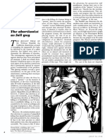 The Abortionist as Fall Guy (by Thomas Szasz)