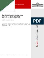 La Constitución Penal. Los Derechos a La Libertad