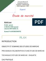 Objectifs Et Domaines d'Application Des Études de Marché